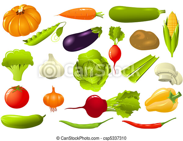 groentes, set - csp5337310