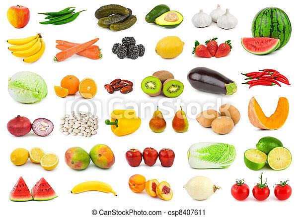 groentes, vruchten - csp8407611