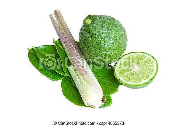 groentes, witte achtergrond - csp14855373