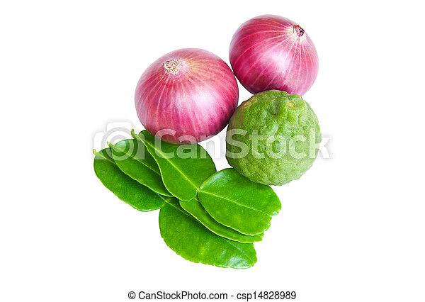 groentes, witte achtergrond - csp14828989