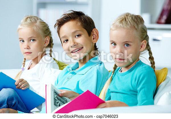 groep, kinderen - csp7046023