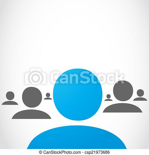 groep, netwerk, sociaal - csp21973686