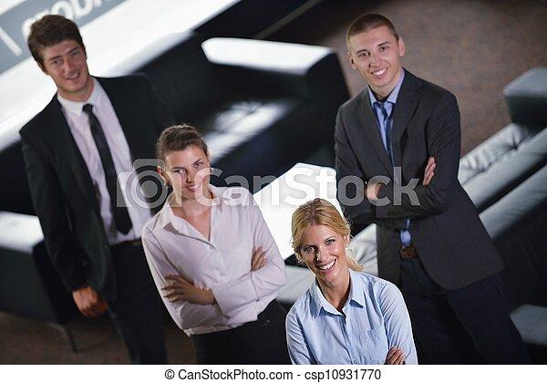 groep, zakenlui - csp10931770