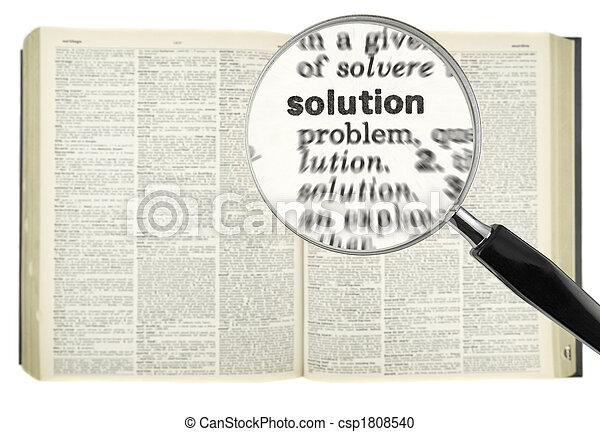 grondig, oplossing - csp1808540