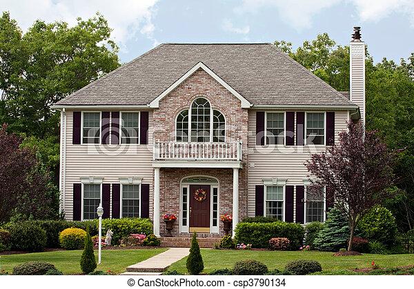 groot, woning, luxe - csp3790134