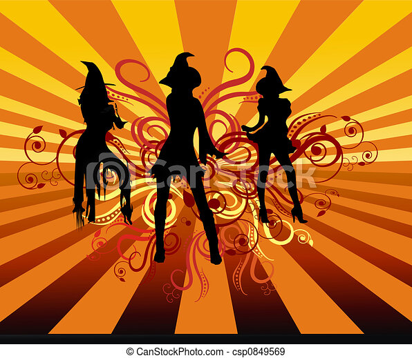 Groovy Witches - csp0849569