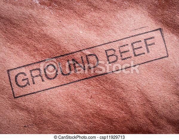 Ground beef - csp11929713