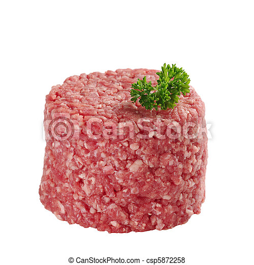 Ground Meat with Parsley - csp5872258