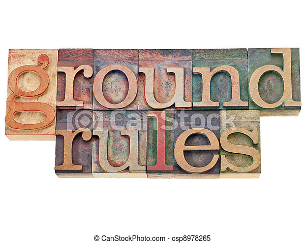 ground rules - csp8978265