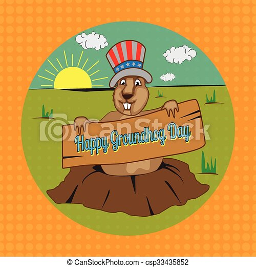 groundhog - csp33435852