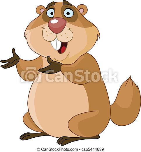 Groundhog - csp5444639