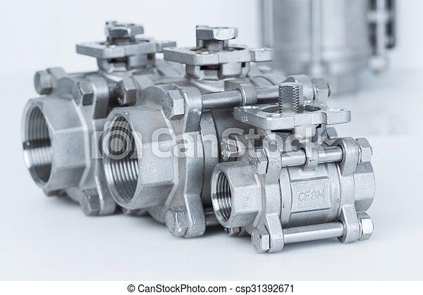 Group 3 valves, different sizes - csp31392671