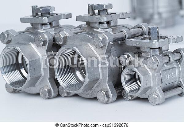 Group 3 valves, different sizes - csp31392676