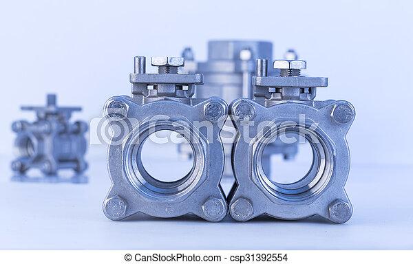 Group 3 valves, different sizes - csp31392554