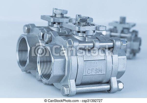 Group 3 valves, different sizes - csp31392727