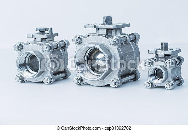 Group 3 valves, different sizes - csp31392702