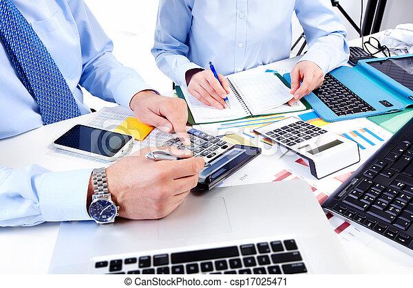 group., fonctionnement, business - csp17025471