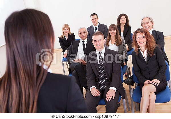 Group Of Business People - csp10979417
