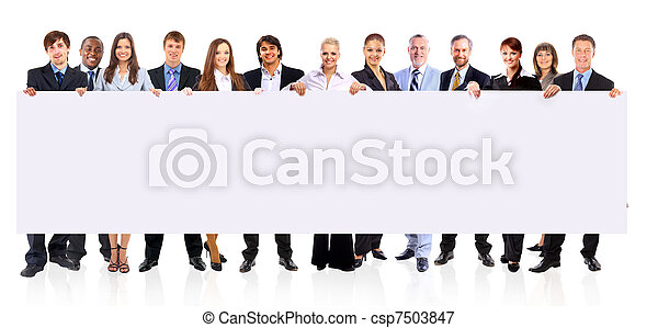 group of business people - csp7503847