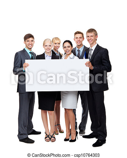 group of business people - csp10764303