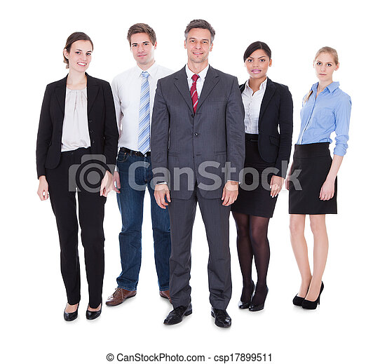 Group Of Businesspeople - csp17899511