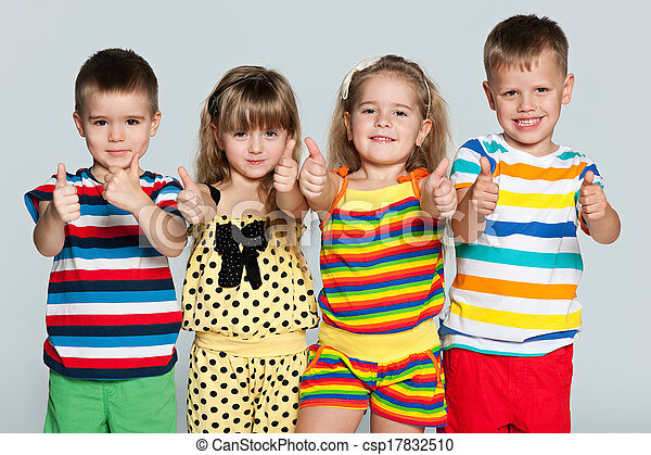 Group of children - csp17832510
