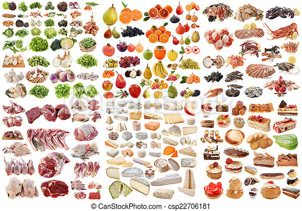group of food - csp22706181