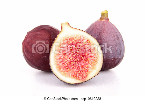 group of fresh figs - csp10619238