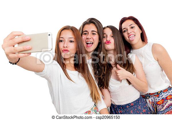 All Cute teen self