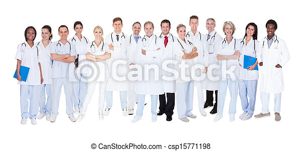 Group Of Medical Doctors - csp15771198