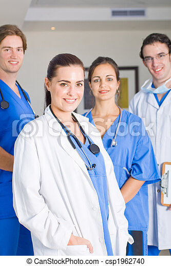 group of medical doctors - csp1962740