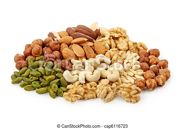 Group of nuts - csp6116723