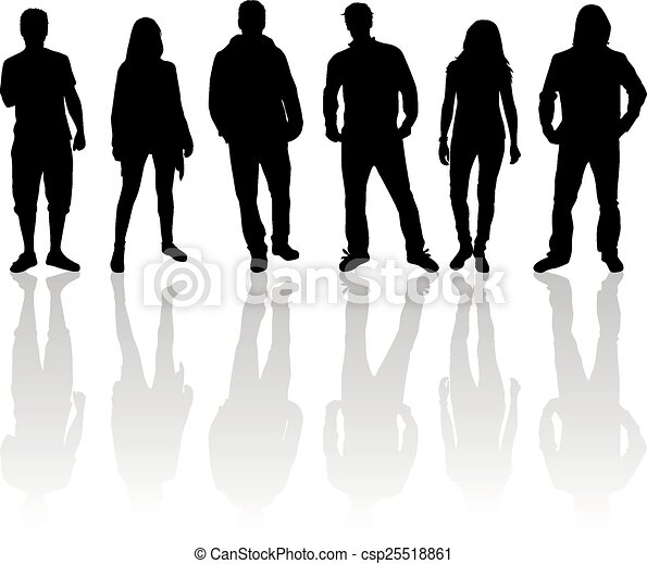 Group of people - csp25518861
