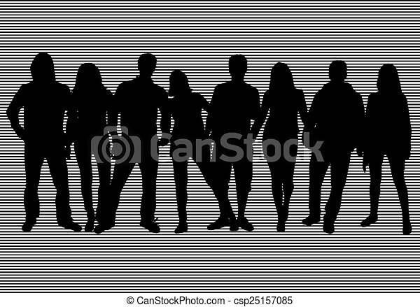 Group of people - csp25157085