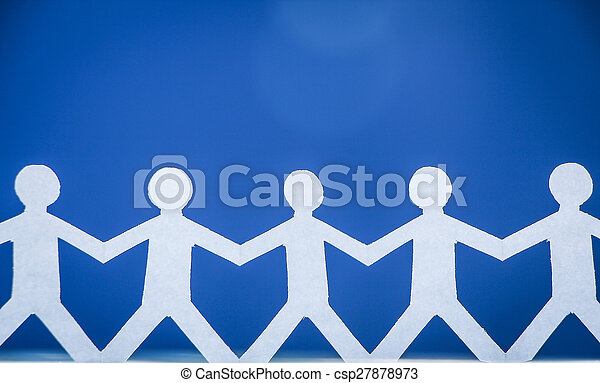 Group of people holding hands - csp27878973