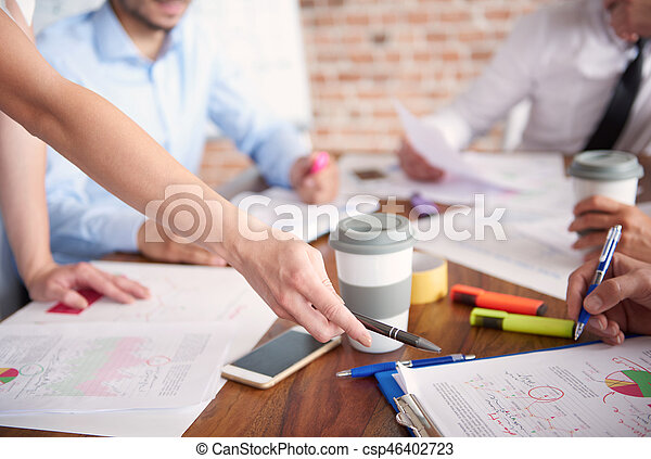Group of people in the office - csp46402723