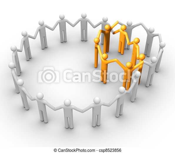 Group of People - csp8523856