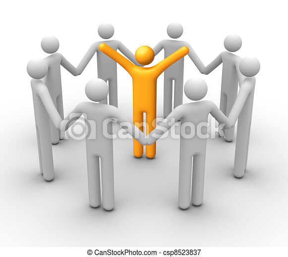 Group of People - csp8523837