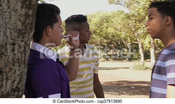 Boys Smoking Videos