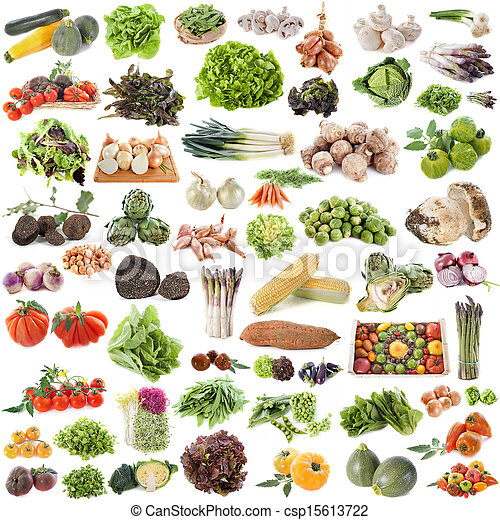 group of vegetables - csp15613722