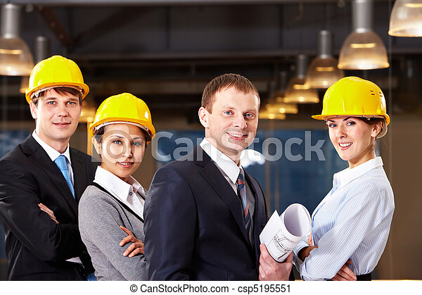 Group of workers - csp5195551