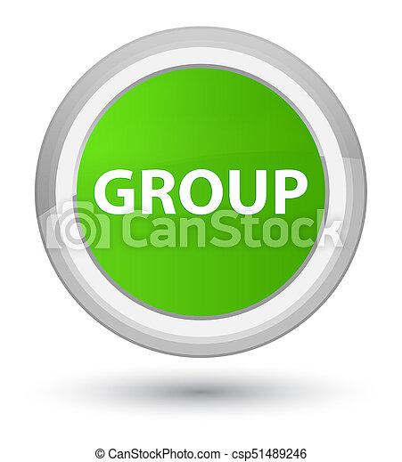 Group prime soft green round button - csp51489246