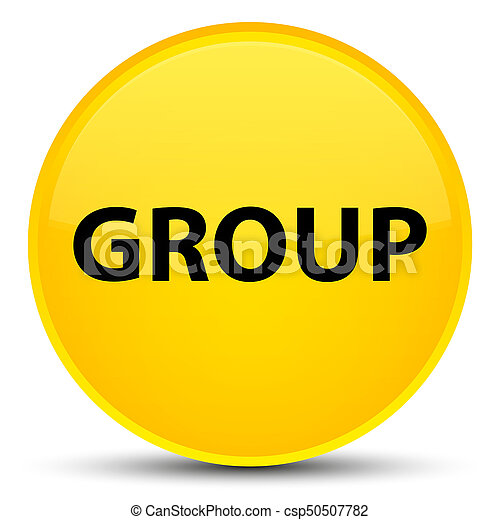 Group special yellow round button - csp50507782