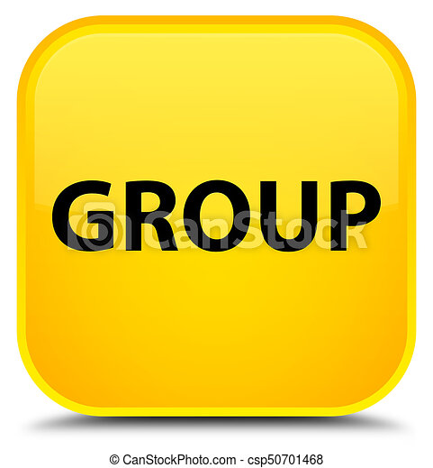 Group special yellow square button - csp50701468
