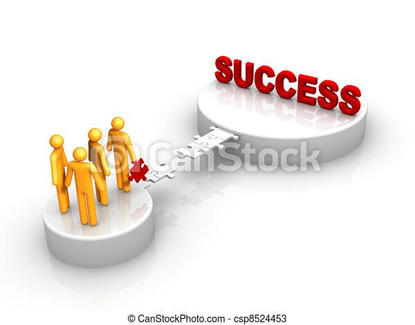 Group Success - csp8524453