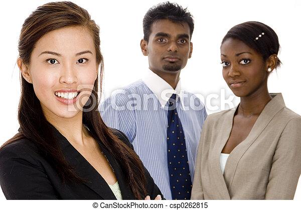 groupe, equipe affaires - csp0262815
