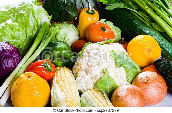 groupe nourriture - csp2787279
