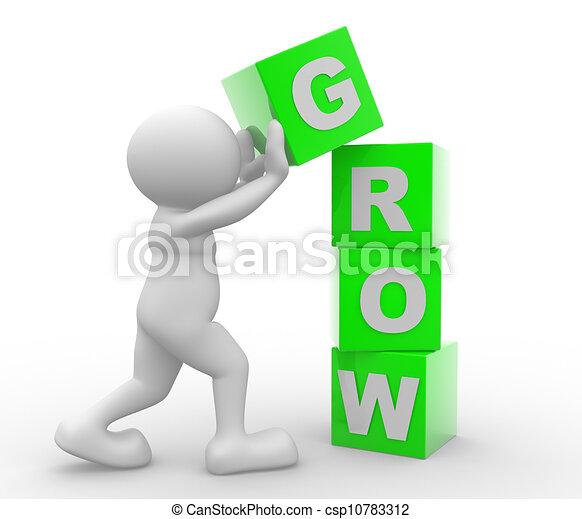 Grow - csp10783312