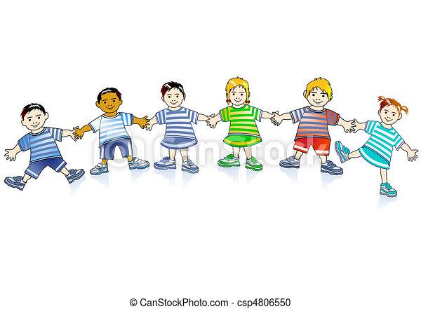 growing children - csp4806550