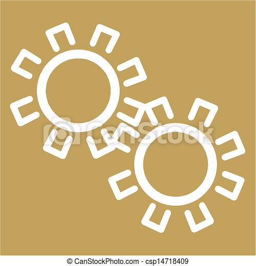 growing gears  - csp14718409